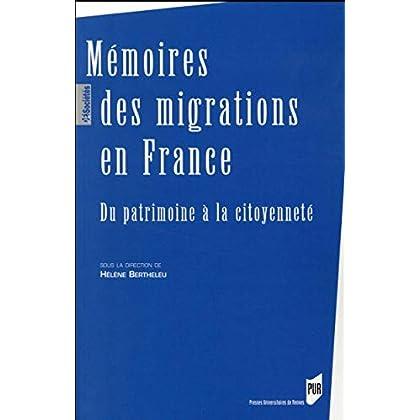 Mémoires des migrations en France : Du patrimoine à la citoyenneté
