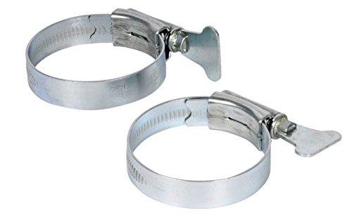 Hozelock Verzinkte Schlauchschellen, für Ø 40 mm Schlauch, Silber, 2 Stück (Verzinkter Schlauch)