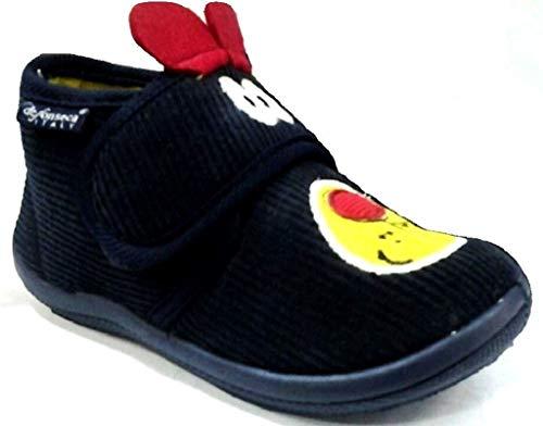 De fonseca scarpette pantofole ciabatte bimbi mod. pescara k41 cane blu (30)