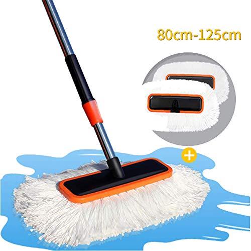 RUIX Autowaschbürste Langer Griff Einziehbare/Weiche Haarbürste/Reinigungsmopp / Reinigungswerkzeug,C