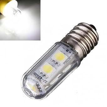 e14 cms 1W 5050 mini-ampoule de lit LED de lumière de maïs blanc 220-240V CA