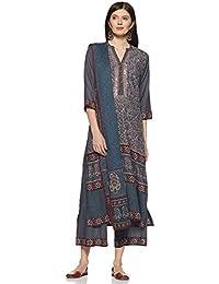 4ee6b83506 Amazon.in  Anarkali - Salwar Suits   Ethnic Wear  Clothing   Accessories