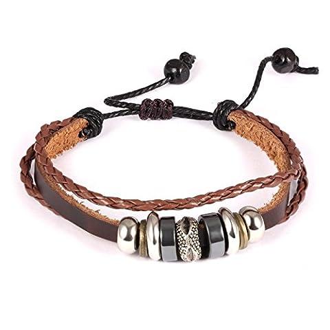 Fate Love Bijoux pour Homme Style vintage Bali inspiré bracelet