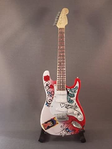 Mini Guitar JIMI HENDRIX Monterey Pop DISPLAY