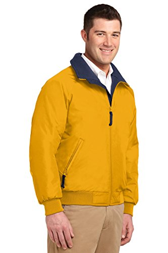 Port Authority - Blouson - Parka - Homme Or - Goldenrod* / True Navy