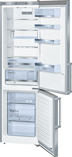 Bosch KGE39AI40 Serie 6 Kühl-Gefrier-Kombination SmartCool/A+++/Kühlen: 247 L/Gefrieren: 89 L/Edelstahl/Anti-Fingerprint