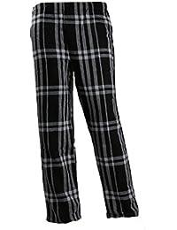 Homme Bas de Pyjama Taille Elastique Pantalon Vêtements de Nuit
