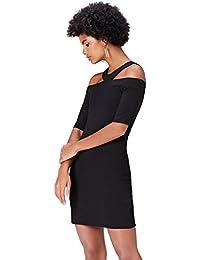 FIND Abendkleid Damen Off Shoulder mit Bleistift-Silhouette