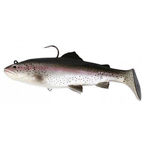 Savage Gear 3D Trout Rattle Shad Gummifische, Farbe:Rainbow Trout;Länge / Gewicht /Schwimmverhalten:20.5cm / 120g / moderate sinkend
