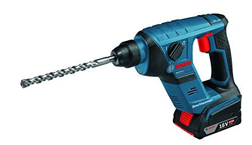 Bosch Professional GBH 18V-LI Compact schnurlose Rotary Hammerbohrer mit SDS Plus (ohne Akku und Ladegerät)–Karton, blau, 0611905374, 18 voltsV