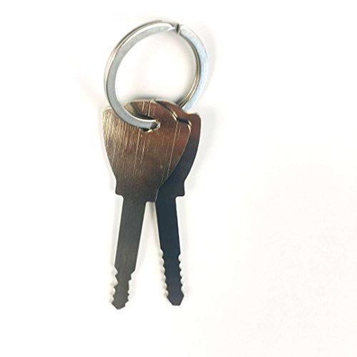 TPM Go 2pcs clés de crochetage de serrure Clé universelle Master K