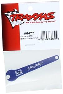 Traxxas 5477 - Llave Plana (5 mm, Aluminio anodizado Azul)