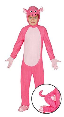Imagen de guirca  disfraz de cerdito, para niños de 3 4 años, color rosa 83277