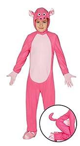 Guirca - Disfraz de cerdito, para niños de 3-4 años, color rosa (83277)