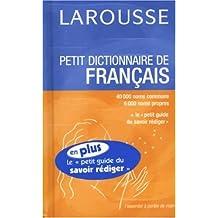 Petit dictionnaire de français