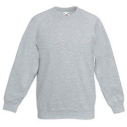 Integriti Schoolwear Boys Girls Unisex Jumper Sweatshirt Crew Neck Round Neck School Uniform Ages 1-15