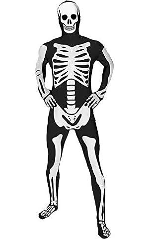 Morphsuits - Squelette Brillant Pour Hauteur 180-186 Cm - Taille Xl