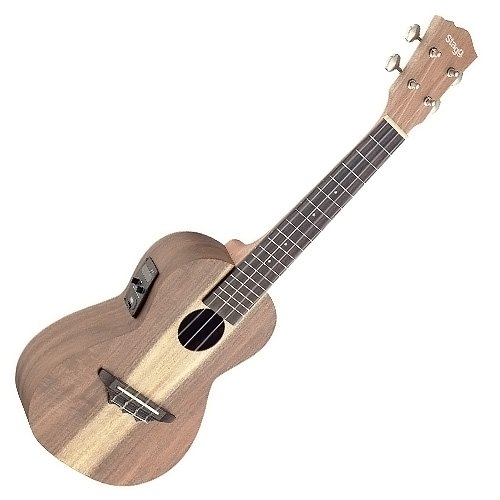 STAGG UCX ACA SE TRADITIONAL ELECTRO ACOUSTIC CONCERT UKULELE WITH SOLID ACACIA TOP