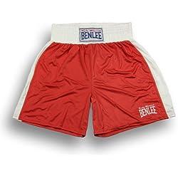 BENLEE Rocky Marciano Benlee - Pantalones de artes marciales para hombre, tamaño XXL, color rojo