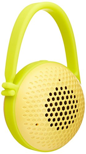 AmazonBasics Ultra-Portable Nano Bluetooth Speakers (Yellow, Certified Refurbished, MBTS-31-YL-cr)