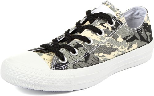 Converse - Chuck Taylor All Star Tri-Panel-Halbschuhe, EUR: 36, Natural/Charcoal/Old Silver CM