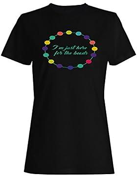 Solo Estoy Aquí Para Las Cuentas camiseta de las mujeres k791f