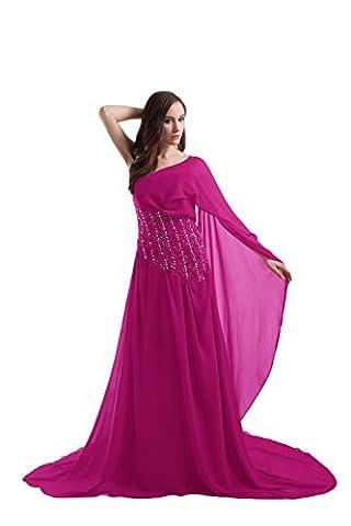 Bridal_Mall - Robe - Trapèze - Sans Manche - Femme - rose - 40