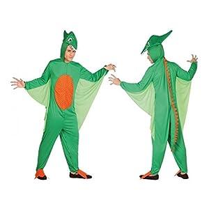 Atosa 26624 - dinosaurios, los hombres traje, tamaño 52/54, verde/naranja