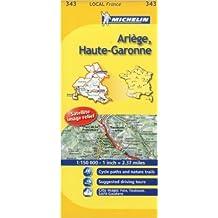 Michelin Map France: Arige, Haute-garonne 343 (Anglais) de Michelin Travel Publications (Corporate Author) ( 1 mars 2008 )