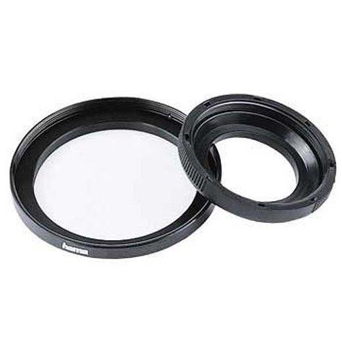 Hama Filter-Adapterring, Von 55,0 mm Objektiv auf 52 mm Filter, Metall, Schwarz 55 Mm-adapter-ring