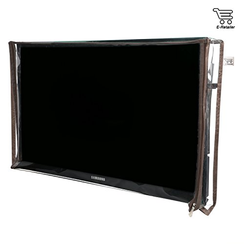 E-Retailer Transparent P.V.C LED/LCD Television Cover For 32 Inch LED/LCD (UNIVERSAL)