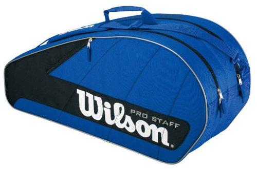 Wilson Pro Staff 6 Sac de tennis 68 cm (Bleu/noir)