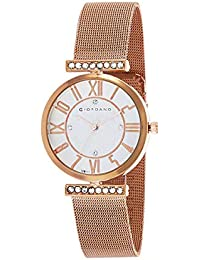 Giordano Analog White Dial Women's Watch-C2149-11