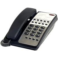 Interquartz Voyager Hotel Handset With Modem Port - Black