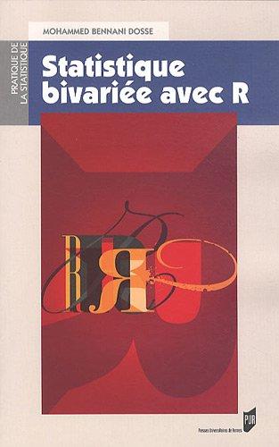 Statistique bivariée avec R par Mohammed Bennani Dosse