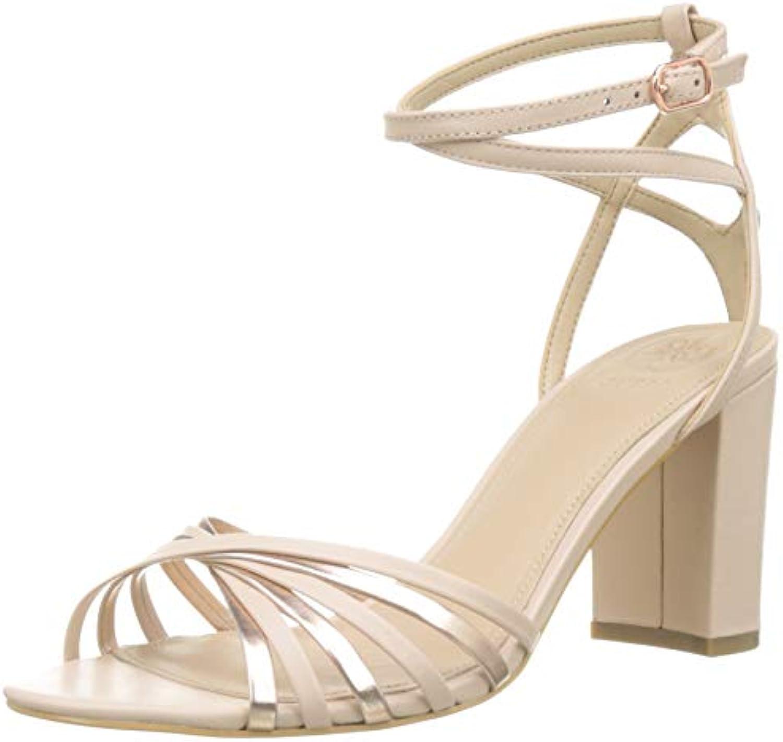 Guess Madesta2 Sandalo (Sandal) Leat, Scarpe con Cinturino alla alla alla Caviglia Donna | Design moderno  | Uomo/Donne Scarpa  cf7045