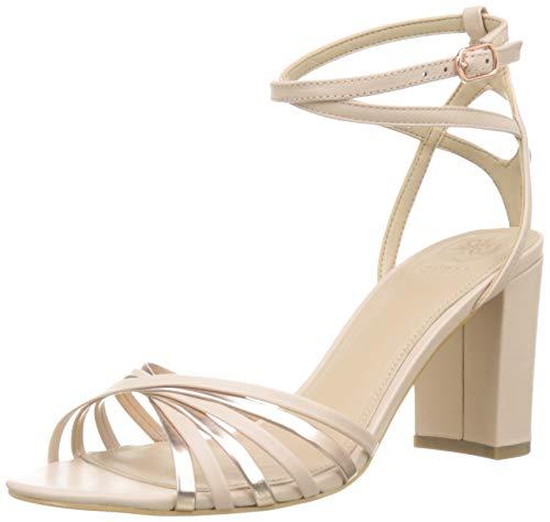 Guess Madesta2/Sandalo (Sandal)/Leat, Scarpe con Cinturino alla Caviglia Donna, Rosa (Pink Blush), 39 EU