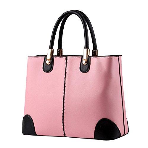 Frauen Handtasche Clutches Damen Umhängetasche Große Lässig Einkaufen Tote Tasche Messenger Bag Schultertasche Mädchen Aktentasche Kosmetiktasche Freizeittasche Reisetasche Reißverschlusstasche