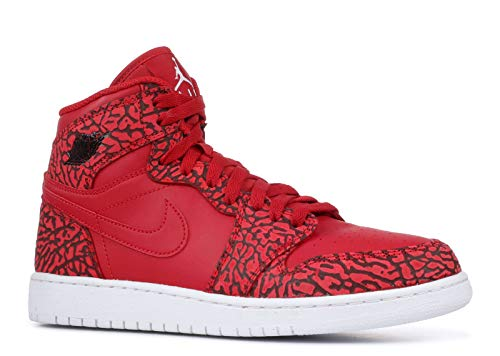 Nike Air Jordan 1 Retro Hi Prem BG Chaussures de Sport - Basketball garçon