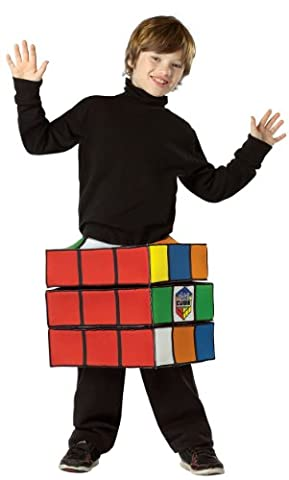 Rasta 4914-1016 Rubiks Cube Costume Tween-Teen