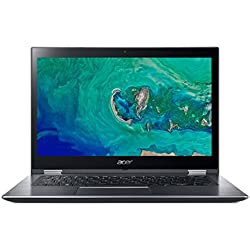"Acer Spin 3 SP314-51-52ZL - Ordenador portátil de 14"" Full HD (Intel Core i5-8250U, 4 GB RAM, 16 GB Intel Optane, 1000 GB HDD, UMA, Windows 10 Home) Gris- Teclado QWERTY Español"