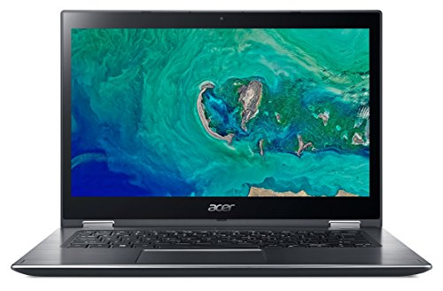 Acer Spin 3 SP314-51-38BY - Ordenador portátil de 14' Full HD (Intel Core i3-7020U, 4 GB RAM, 1000 GB HDD, UMA, Windows 10 Home) Gris- Teclado QWERTY Español