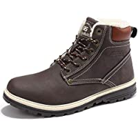 SIXSPACE Winterstiefel Warm Gefütterte Winterschuhe Outdoor Schneestiefel Winter Boots für Herren Damen