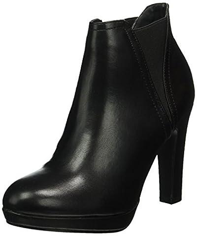 Another Pair of Shoes Damen AryanaE1 Kurzschaft Stiefel, Schwarz (BLACK01), 41 EU