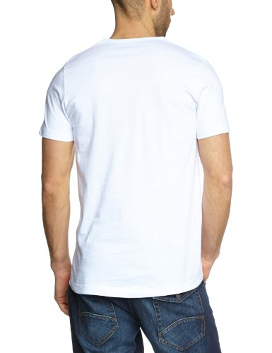 Garage Herren T-Shirt 2 er PackRegular Fit 104 - 2-pack VN T-shirt regular fit Weiß (White 100)