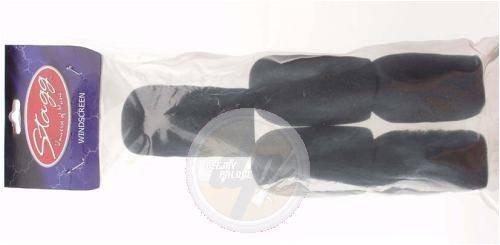 Stagg WS-S20/B5 Mikrofon Windscreen (20 mm, 5-er Pack) schwarz (Mm 20 Pack)