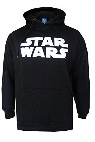 Star Wars Officiel Capuche Darth Vader Ombre Pull À Capuche Pull-over Pull Capuche - Noir, XL