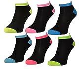 8 oder 12 Paar Damen Bambus Sneaker Socken Füßlinge Baumwolle 35-38 ; 39-42 (35-38, 12 Paar)