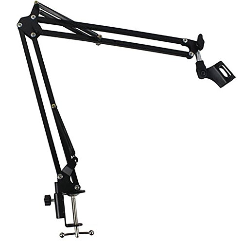 Fashion ER Professionelle Einstellbare Mic Arm Stand Mikrofon Suspension Boom Scissor Halter Für Studio Broadcast - Mic Arm Stand Scissor
