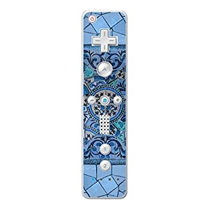 Disagu Design Skin für Nintendo Wii Controller – Motiv Blaues Mosaik